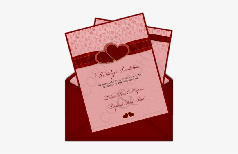 simple indian wedding invitation card