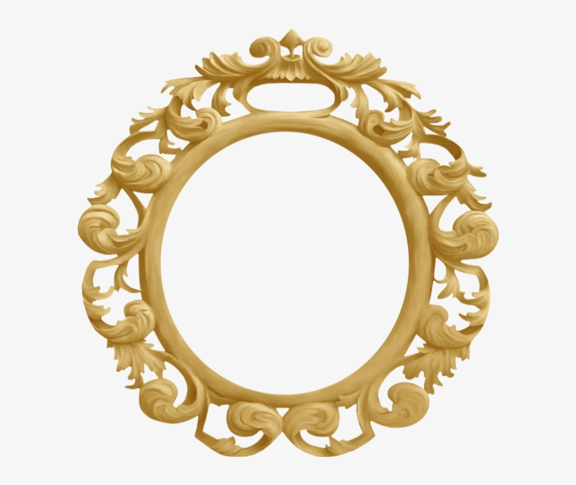 cadre rond baroque cadre rond png