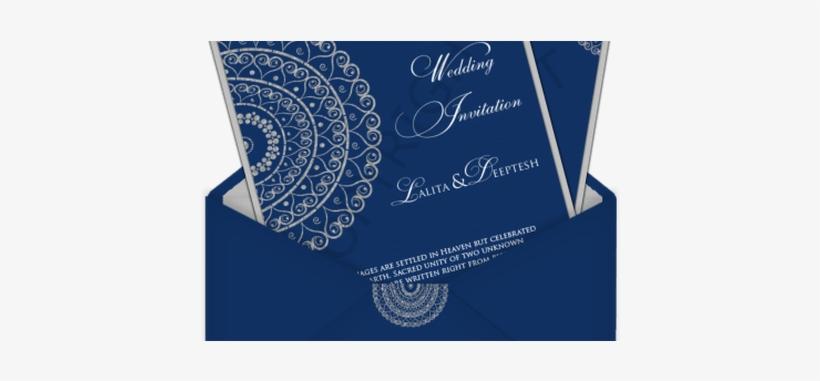 fresh wedding invitation card