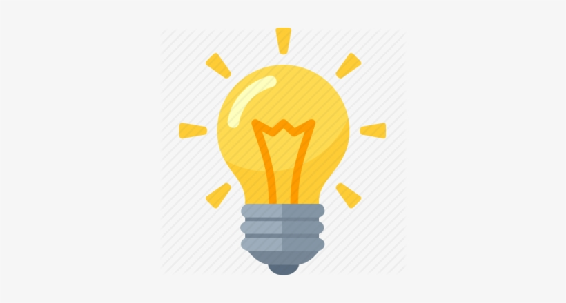 Idea Bulb Идея Лампочка Transparent Background Light