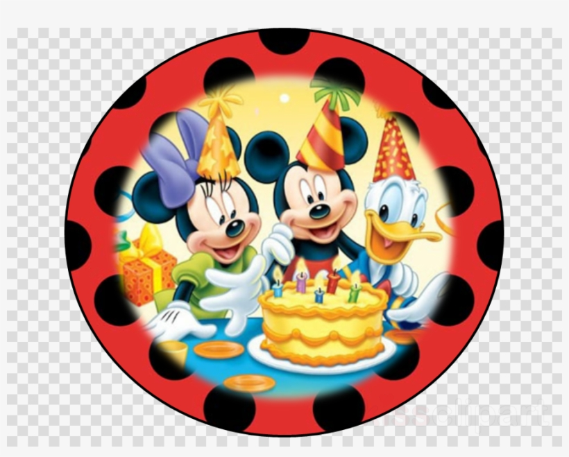 Mickey Mouse Happy Birthday Background Clipart Mickey Kids Happy Birthday Background Free Transparent Png Download Pngkey