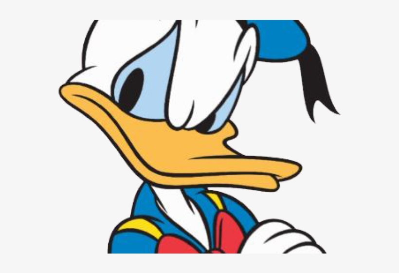 Irritated Donald Duck Upset Donald Duck Angry Transparent