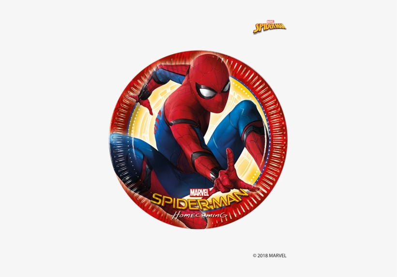 spiderman paper plates larger photo