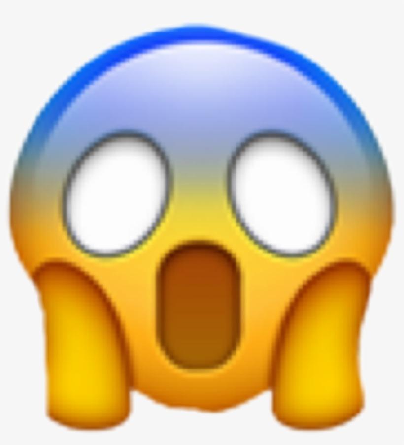 Shocked Emoji Wow Omg Freetoedit Transparent Background Gasp