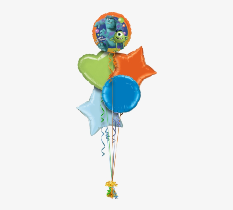 Monsters Inc Happy Birthday Birthday Balloon Monsters University Happy Birthday Balloon Mike Sully Free Transparent Png Download Pngkey