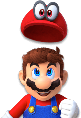 Download Happy Birthday From Nintendo Super Mario Odyssey Nintendo Switch Png Image With No Background Pngkey Com