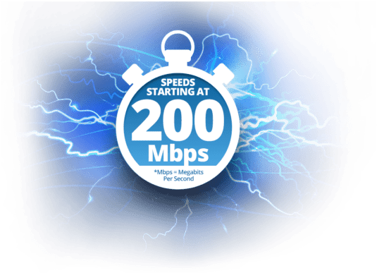 Download Lightning-fast Internet Speed - Spectrum Gig Internet PNG Image  with No Background - PNGkey.com