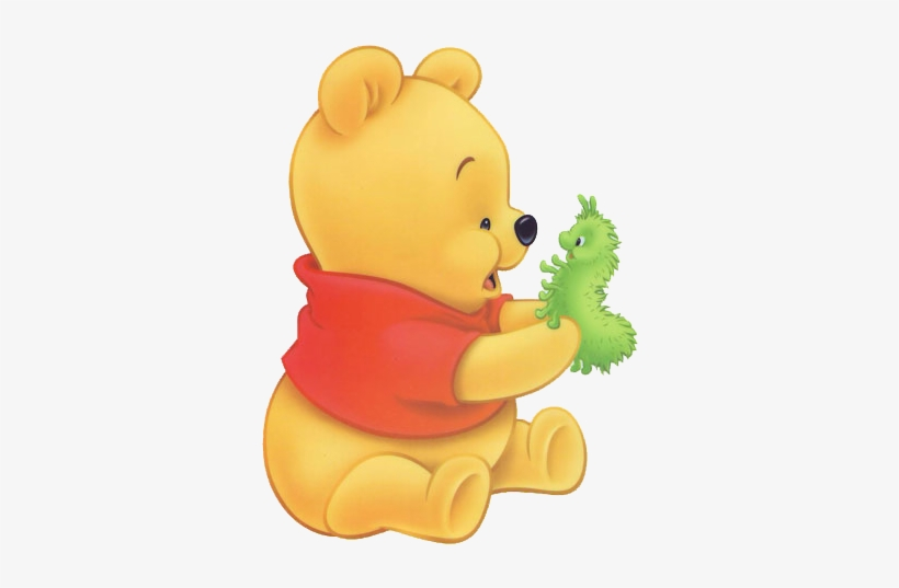 Baby Pooh Bear Clipart Winnie Pooh Bebe Png 376x486 Png Download Pngkit