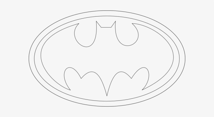 Batman Logo Coloring Pages Download Batman Logo Coloring Superhero Logo Coloring Pages 600x369 Png Download Pngkit