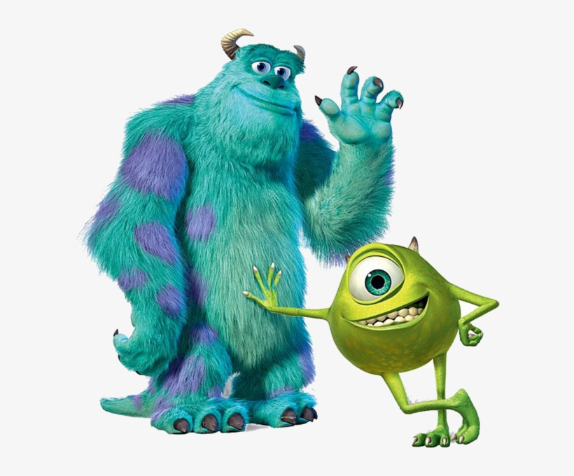 Share This Image Monster Inc Happy Birthday 609x600 Png Download Pngkit
