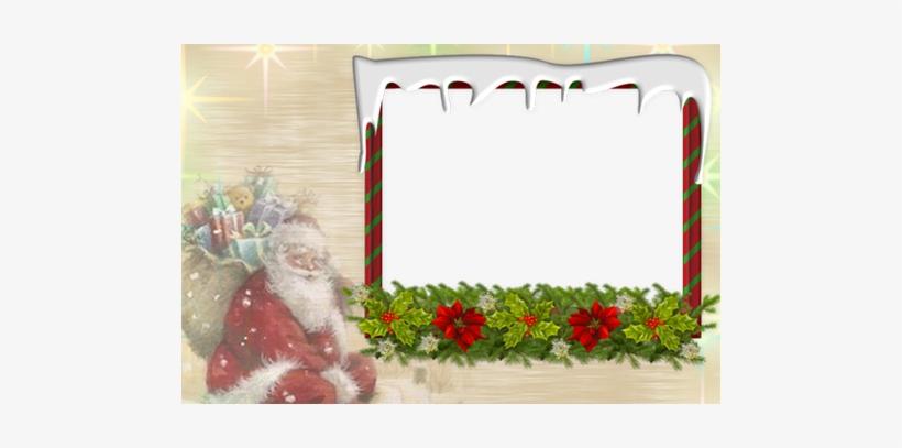 Christmas Joy Photo Frames Clipart Cadre Noel Gratuit 490x327 Png Download Pngkit