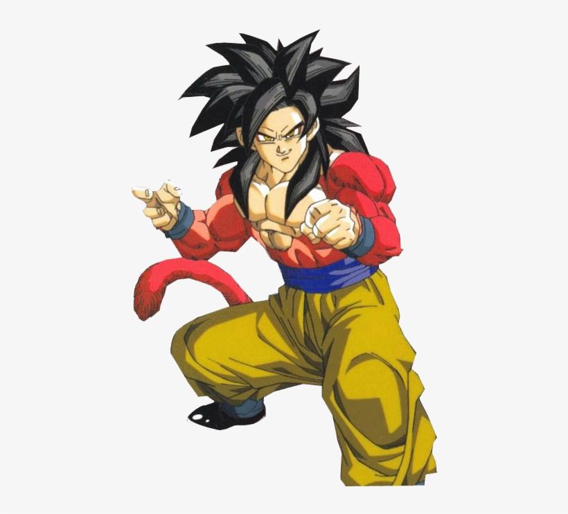 And This Is Super Saiyan 4 Comment Dessiner Goku En Super Saiyan 495x665 Png Download Pngkit