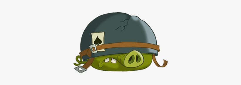 Corporal Pig Angry Birds Toons All Pigs 401x401 Png Download Pngkit