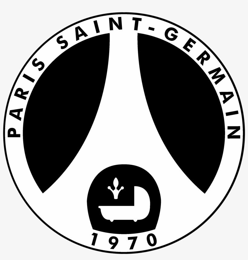 logo paris saint germain negro