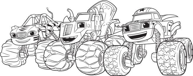 Download Top 31 Blaze And The Monster Machines Coloring Pages Printable Blaze Colouring Pages Full Size Png Image Pngkit