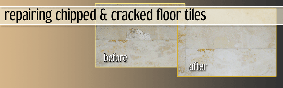 repair cracked tile