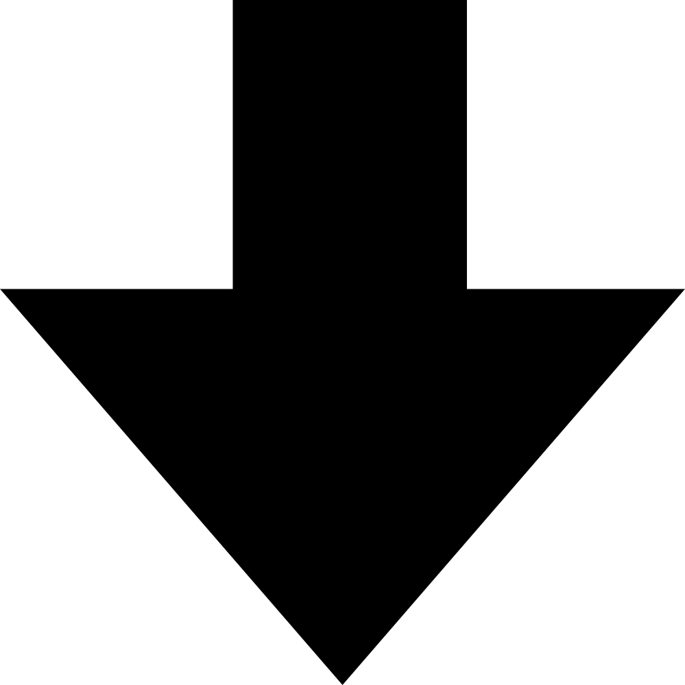 Arrow Pointing Down Clipart