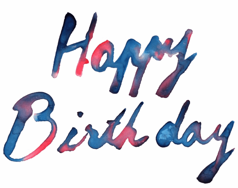 Happy Birthday Text Png Photos Png Mart