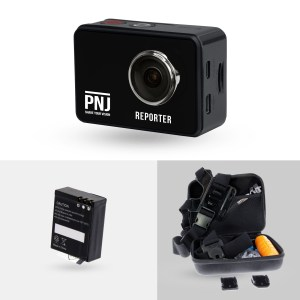 Pack Caméra REPORTER + extra batterie + accessoires