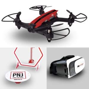 Pack avancé drone de course connecté
