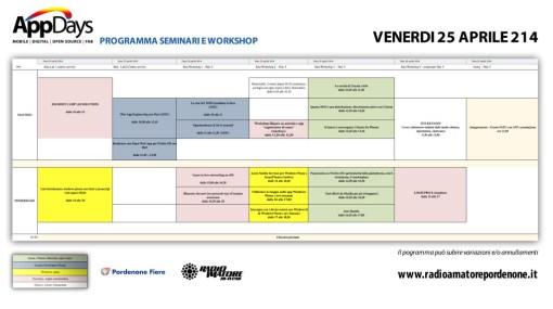 ProgrammaAppDaysVenerdi25Aprile2014
