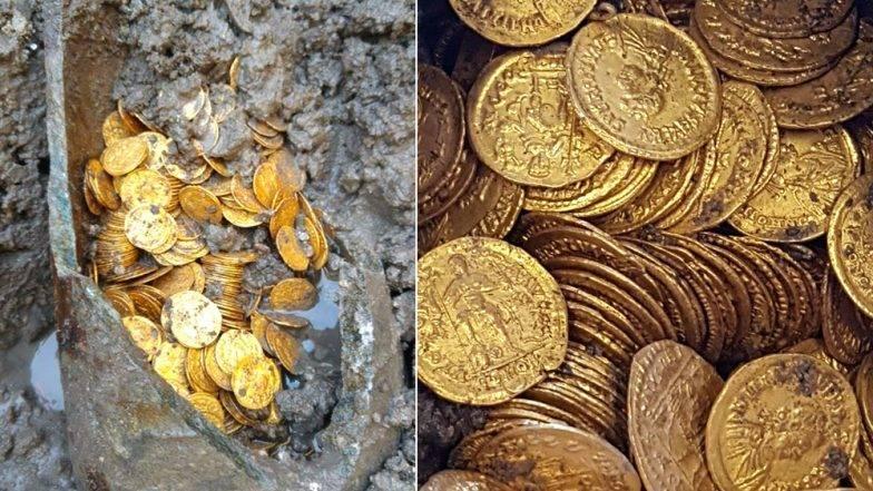 १५० वर्ष पुरानो घर भत्काउदै गर्दा सुनको सिक्काले भरिएको भाँडा भेटिएपछि…