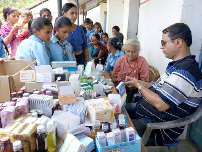 धनकुटा अस्पतालमा निःशुल्क स्वास्थ्य शिविर शुरु