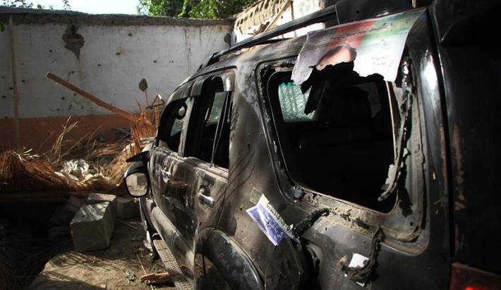 निर्वाचन प्रचारका लागि भएको प्रदर्शनमा १३ अफगानीको मृत्यु