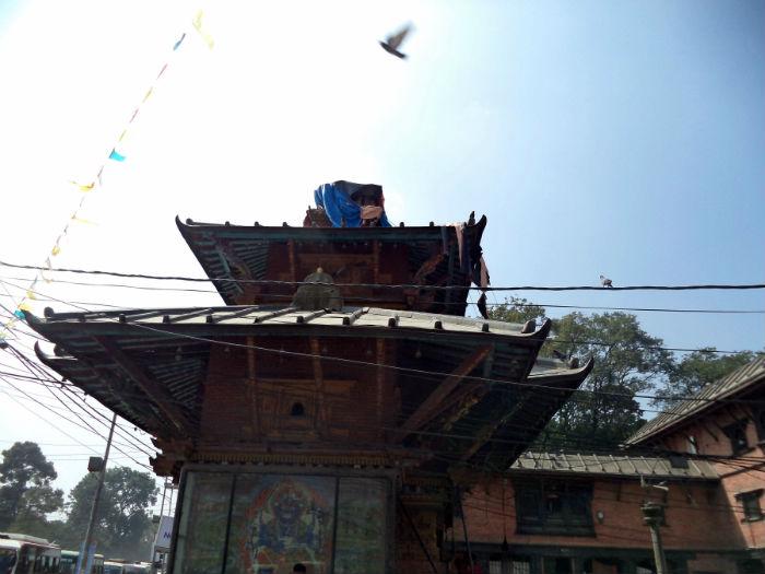 विश्व सम्पदा सूचीमा सूचिकृत पशुपति क्षेत्रको जयवागेश्वरी मन्दिर पालको भरमा