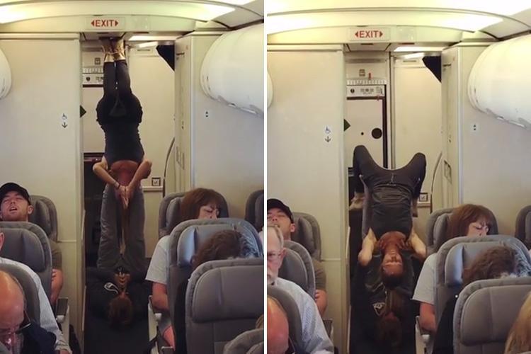 उडिरहेको विमानमा यो जोडीको हर्कत देखेर चकित परे यात्रु, भाइरल हुँदै भिडियो
