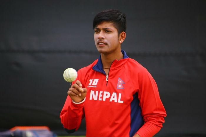 क्रिकेटर लामिछानेको 'यो झरीमा' सार्वजनिक