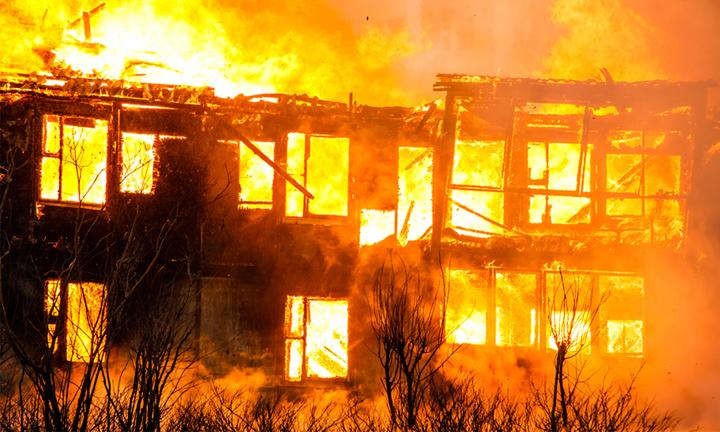 अछाममा आगलागी हुँदा सात घर जलेर नष्ट, एक करोड ६० लाख बराबरको क्षति