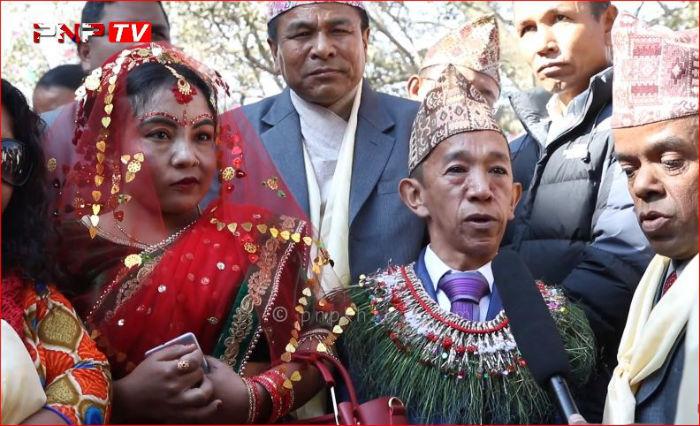 होचा पुड्का संघका महासचिव र उपाध्यक्षको अनौठो र नेपाली समाजकै उदाहरणीय विवाह [भिडियोसहित]