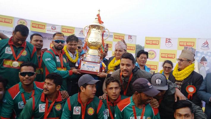 मनमोहन कप क्रिकेट : त्रिभुवन आर्मीलाई उपाधि