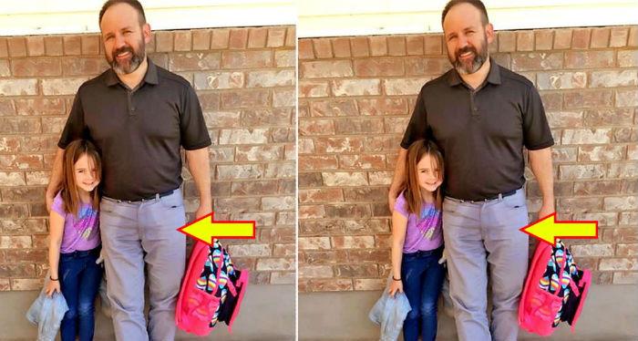 विद्यालयमा छोरीले स्कुलको पोशाकमै पिसाब फेरे पछि यी आदर्श बाबुले लगाए यस्तो जुक्ति