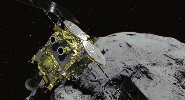 हायाबुसा २ छुद्रग्रहमा सफलतापूर्वक अवतरण