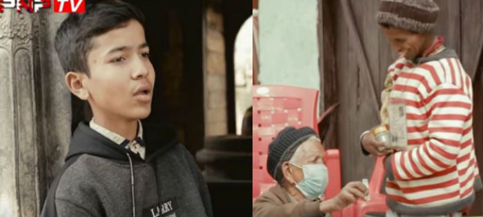 बाजुराको ध्रुव विकको पहिलो गीतमा भाइरल भिम विकको अभिनय (भिडियो)