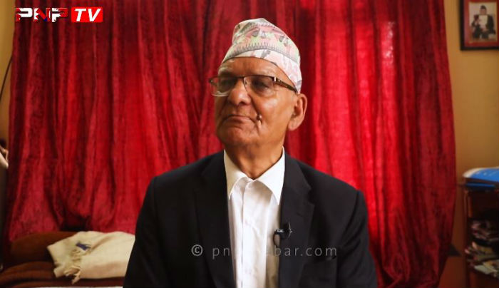 भारतको इशारामा नेपाल सिध्याउन लागि पर्यो वर्तमान सरकार : चित्र बहादुर केसी (भिडियो)