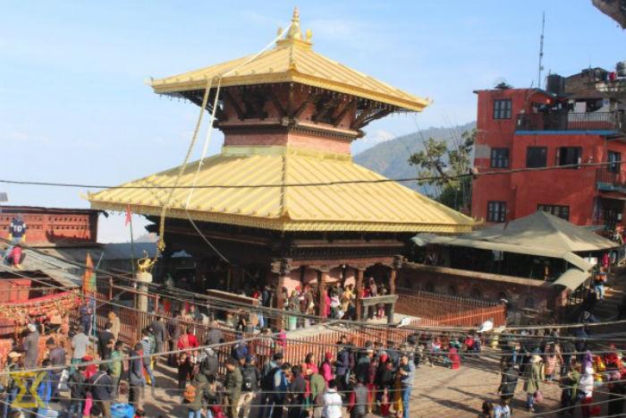 शक्तिपीठमा भक्तजनको भीड, कुष्माण्डा देवीको आराधना