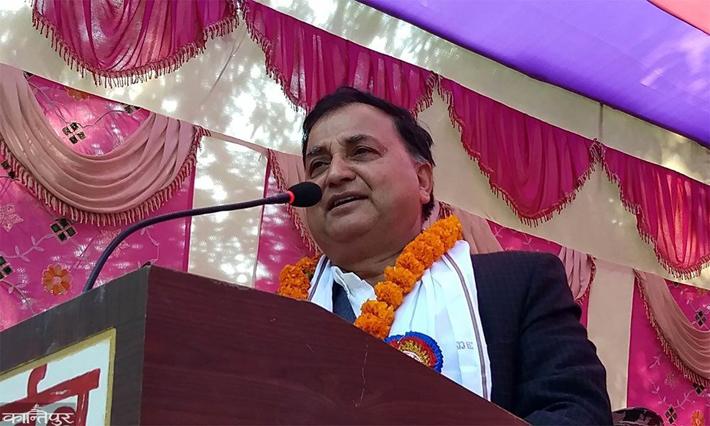 'नेपाल ट्रष्टको नाममा रहेको जग्गा कसैले चलाउन पाउँदैन' : मन्त्री पोखरेल