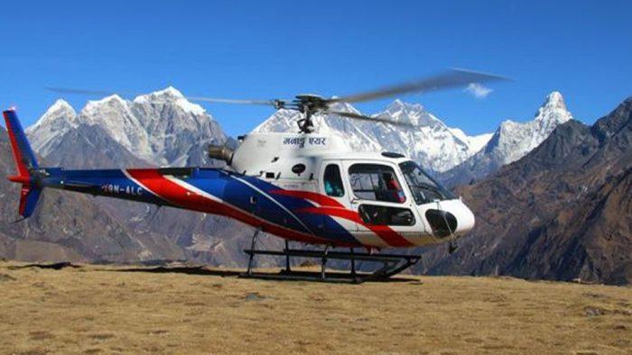 हिमाली भेगमा आज र भोलि हेलिकप्टर नउडाउन सरकारको अनुरोध