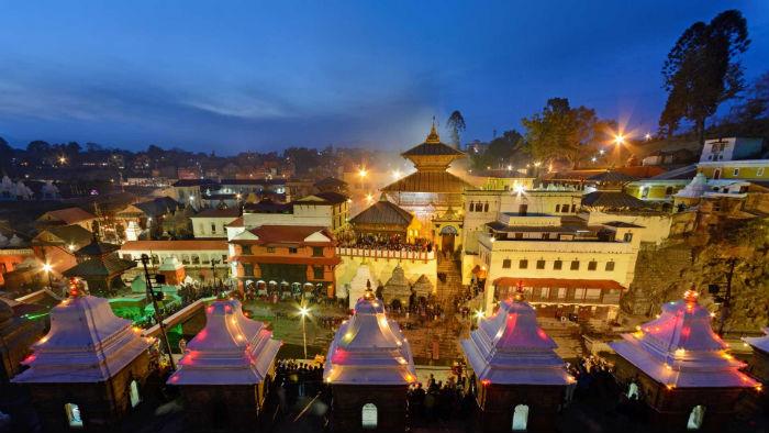 पशुपति मन्दिरको टुँडालबाट पानी चुहियो