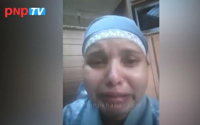 """कुवेतमा बेचिएकी चेलीको चित्कार """"मलाई यहाँबाट निकाल्नुस"""" (भिडियो)"""