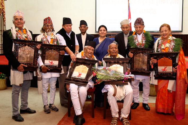 नेपाललाई विश्वसामु चिनाउने साहित्य, सङ्गीत र कला होः राष्ट्रपति भण्डारी