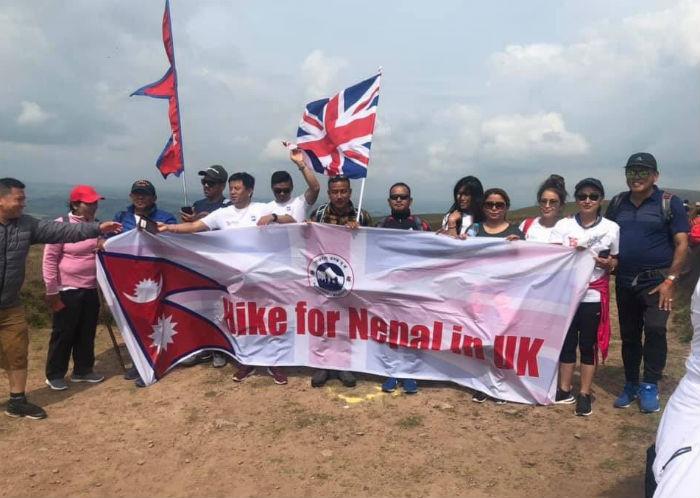 बेलायतमा 'हाईक फर नेपाल' भव्य रुपमा सम्पन्न