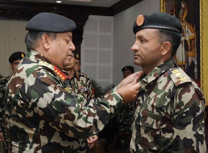 पूर्वलडाकु सेनाको सहायक रथी बन्दै