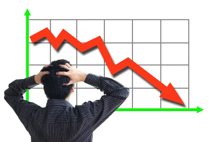 शेयर बजार : नेप्से दोहोरो अङ्कले घट्यो