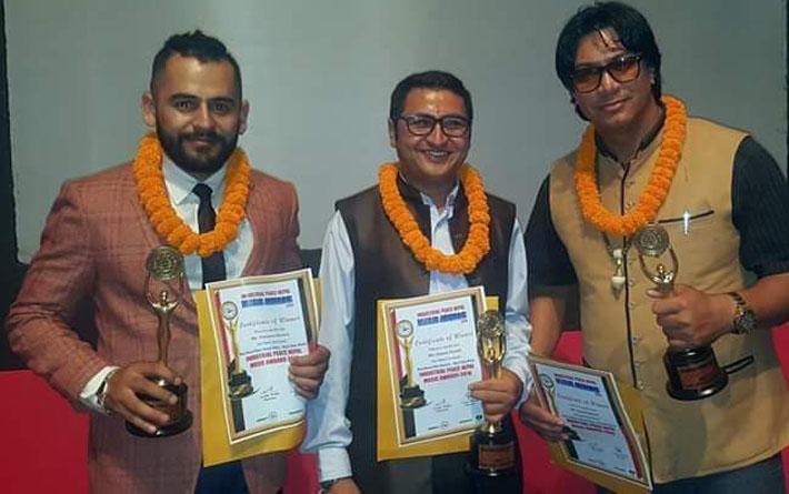 औद्योगिक शान्ति नेपाल अवार्डमा 'बिन्ती छ मलाई' गीतको ह्याट्रिक