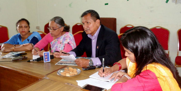 समन्वय नहुँदा योजना प्रभावित : मुख्यमन्त्री गुरुङ