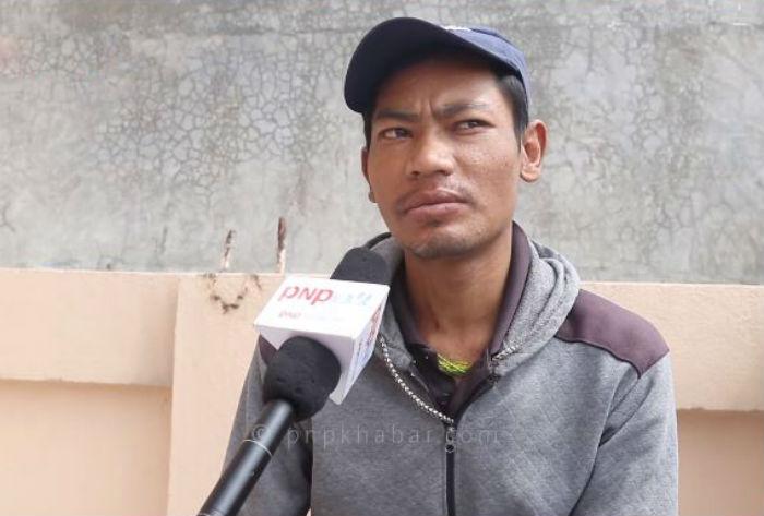 मृगौला पिडित २८ वर्षीय तीलक  सहयोगको अपिल गर्दै